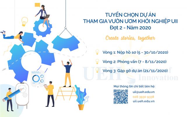Thông báo tuyển chọn dự án Khởi nghiệp Đổi mới Sáng tạo đợt 2 năm 2020 - UII Incubator Program Intake 2/2020